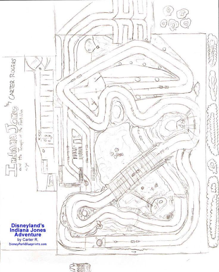 35 best maps images on pinterest disney parks disney stuff and disney park blueprints indiana jones adventure disneyland ca usa gumiabroncs Gallery