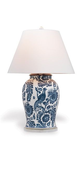 """""""Blue and White Porcelain"""" By InStyle-Decor.com Hollywood, for more beautiful…"""