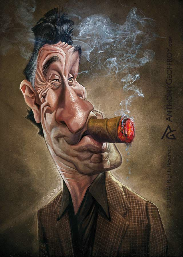 Funny Caricatures by Anthony Geoffroy, these are actually really cool!