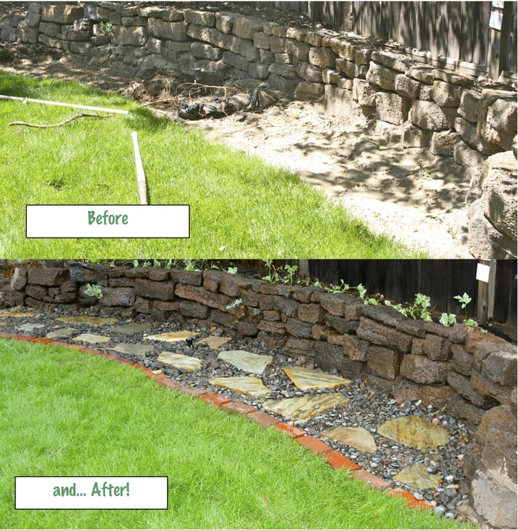 Landscaping With Shale Rock : Landscape Backyard Desert Landscaping And
