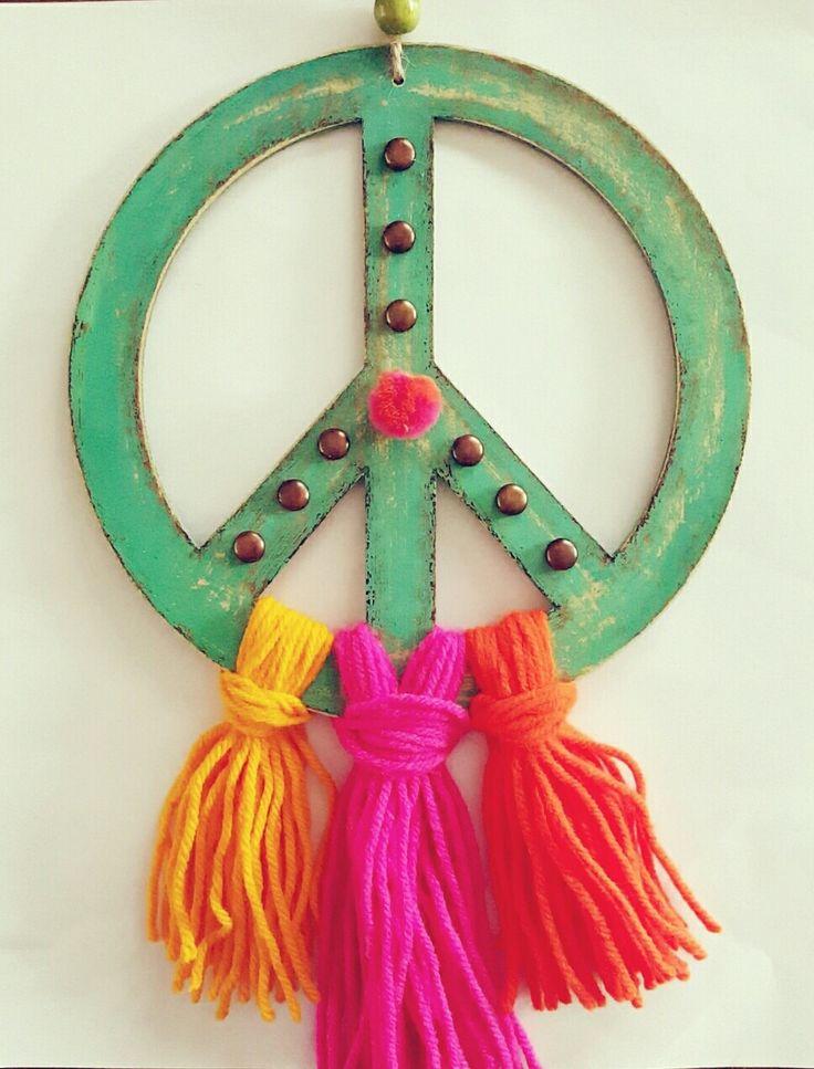"Colgante ""PEACE"""