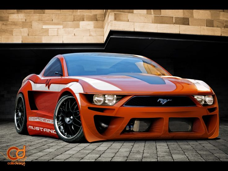 Customized Ford Mustang