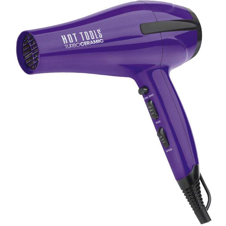 Hot Tools Turbo Ceramic Ionic Professional Hair Blow Dryer 1875 Watts HT7007CRM