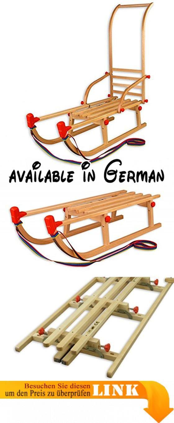 22-105-Stange Klappschlitten Davos mit Schubstange Rodelschlitten Holzschlitten 105 cm. Davoser Schlitten mit 105 cm Länge. Rodelschlitten mit praktischer Schubstange (abnehmbar). als Klappschlitten mit Ziehleine (die Schubstange dient gleichzeitig als Rückenlehne). stabile Konstruktion aus massiver heimischer Buche. Stabile Schraubräder und Verbindungen #Toy #SPORTING_GOODS
