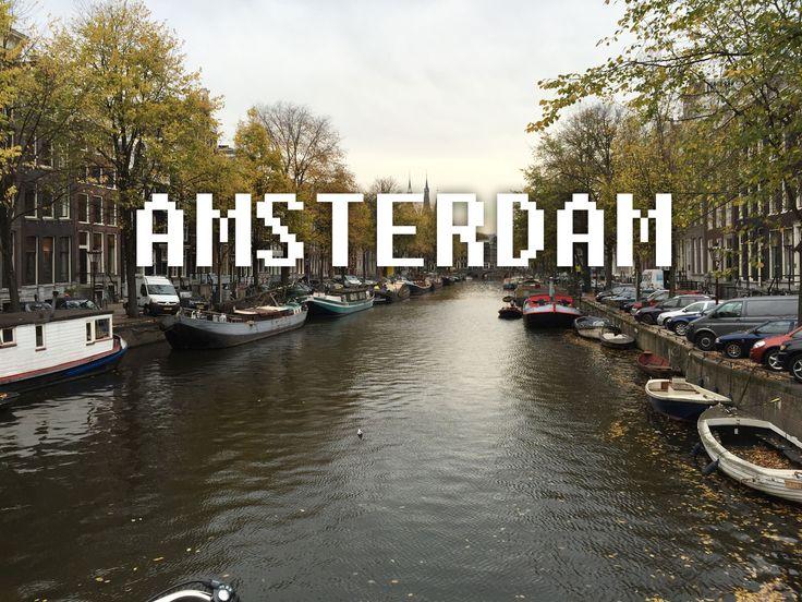 4 Nights in Amsterdam baby! www.NerdyExplorer.com