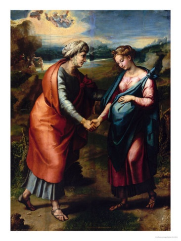 10 Best Images About Visitation Of The Virgin Mary To Her