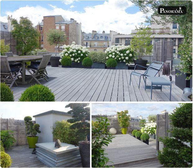Terrasse En Bois Exotique Ipé Auteuil Paris