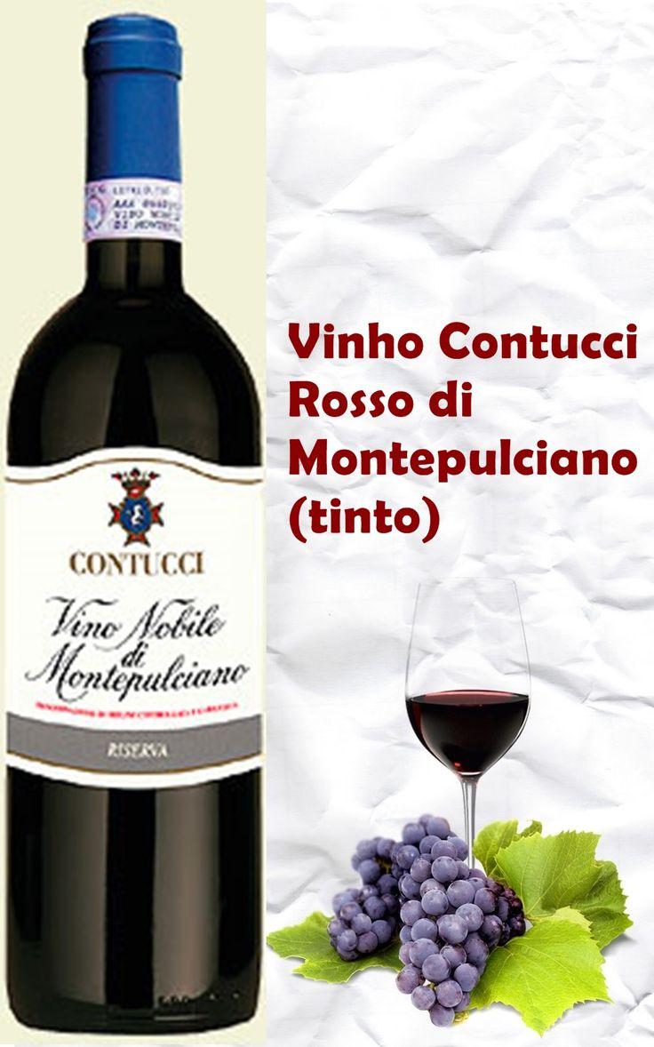 VINÍC0LA:  Contucci REGIÃO :  Montepulciano,  Itália Central CARACTERÍSTICAS:  um vinho envelhecido em barris de carvalho,com taninos macios e notas focadas com frescor e equilíbrio.