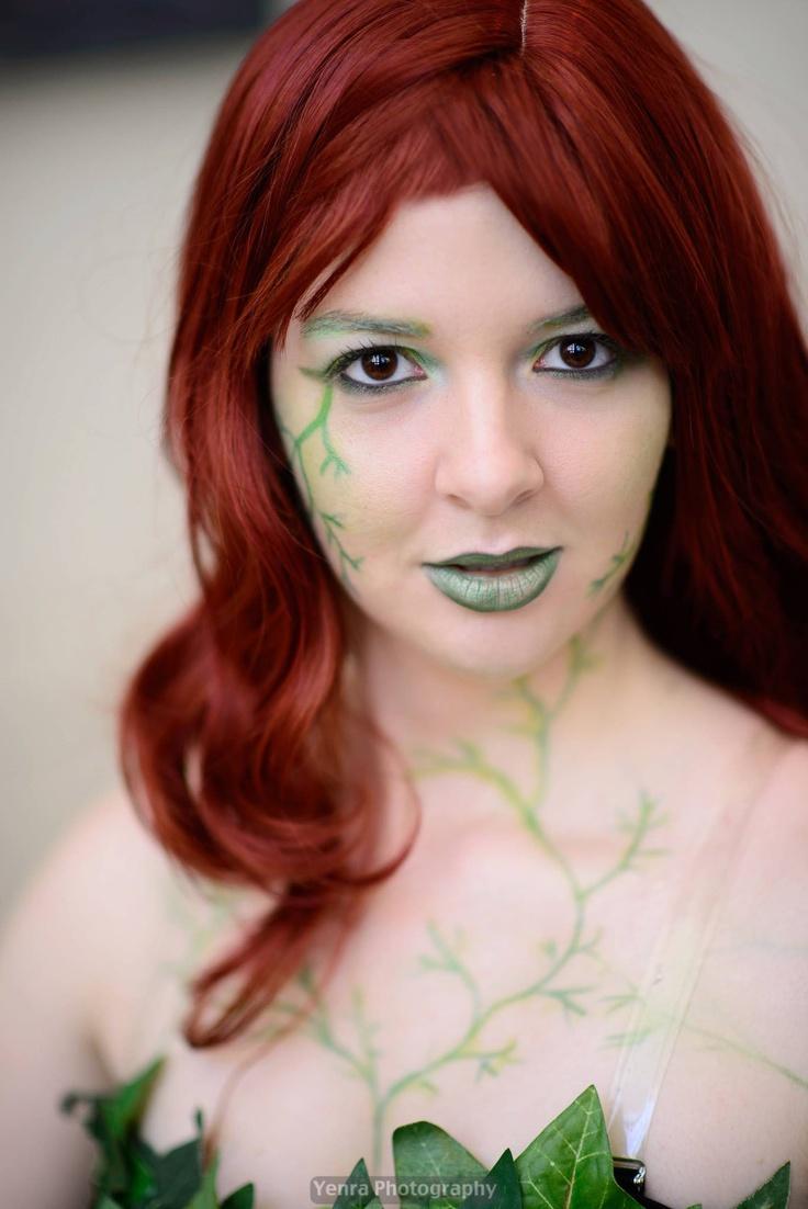 Poison Ivy cosplay. Costume makeup. Theater make up. Batman. peter pan/ tinkerbell ideas???