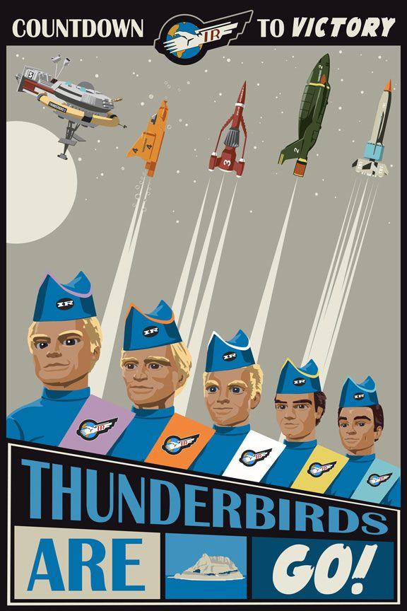 Thunderbirds - en memoria de Gerry Anderson... R.I.P.