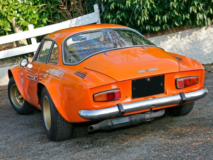 1970 Renault Alpine A110 1600S Group-4