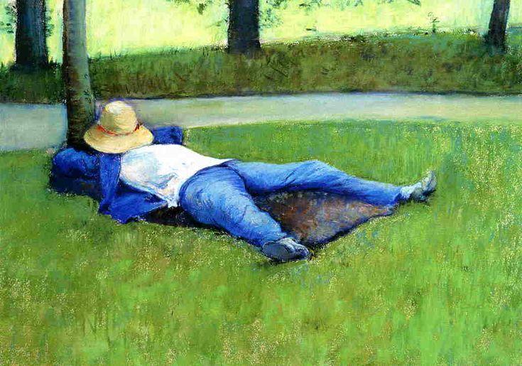 , pastel de Gustave Caillebotte (1848-1894, France)