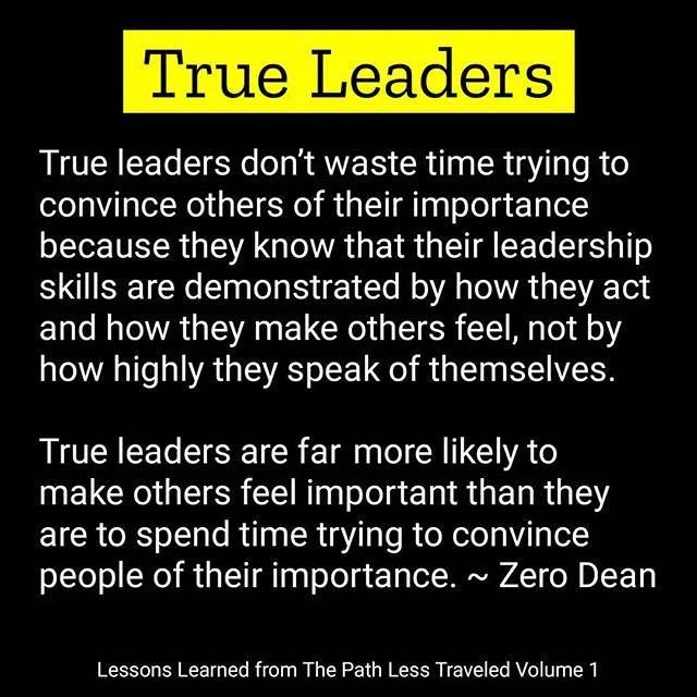 Get Zero Dean S Book On Amazon True Leaders Demonstrate Good