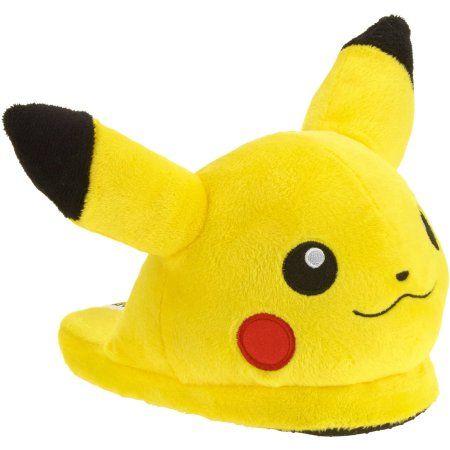 Kid's Pokemon Pikachu Slipper - Walmart.com (size 2-3)