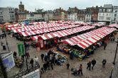 Northampton Market  - Northampton, England.   Northampton's Market Square hosts one of the longest running markets on record in the UK. The market runs from Tuesday to Saturday every week with activities taking place throughout the year.    That's right honey, I scoped out your hometown. <3