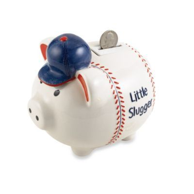 Mud Pie™ Little Slugger Musical Piggy Bank