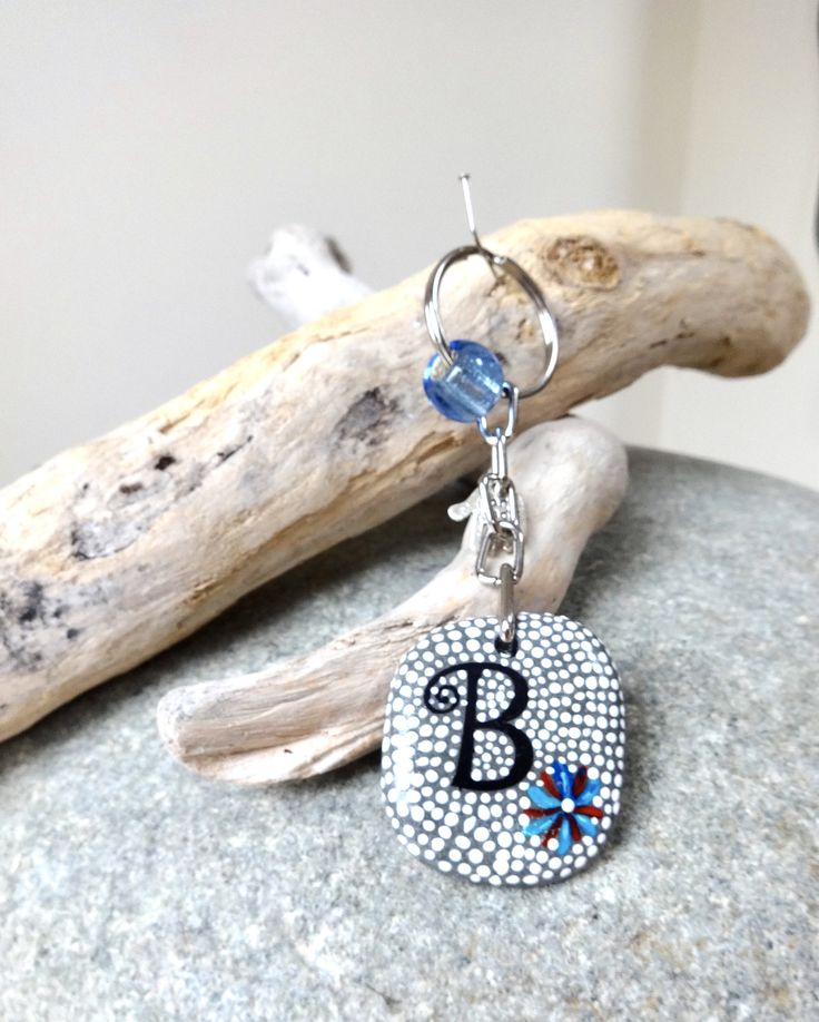 A personal favourite from my Etsy shop https://www.etsy.com/uk/listing/580923240/beach-stone-handpainted-keyring-or-bag