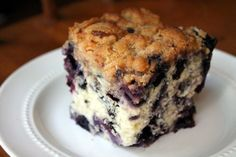 Blueberry Buckle Newfoundland Recipe. Cookbook of Traditional Newfoundland Meals by Newfoundland.ws