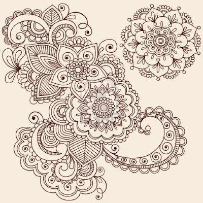 Mandala Madness: A Cool Floral Mandala To Color