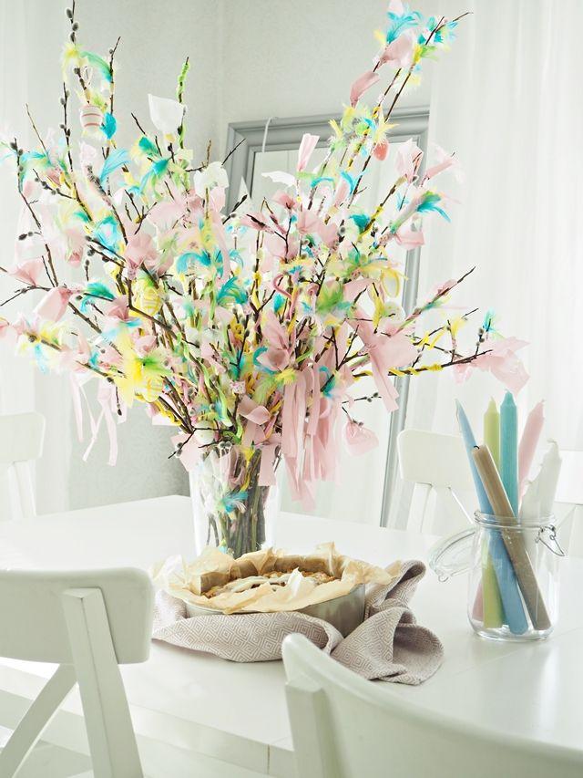 LA PETITE PRINCESSE: Pääsiäisvitsoja, pääsiäispullaa ja ennustaja. / Easter, pussywillows, easterhome