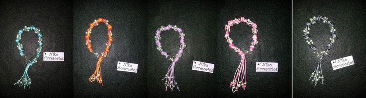 Pulsera original, hilos bicolor, colores de combinación de dos hilos a elección. $2.500 c/u