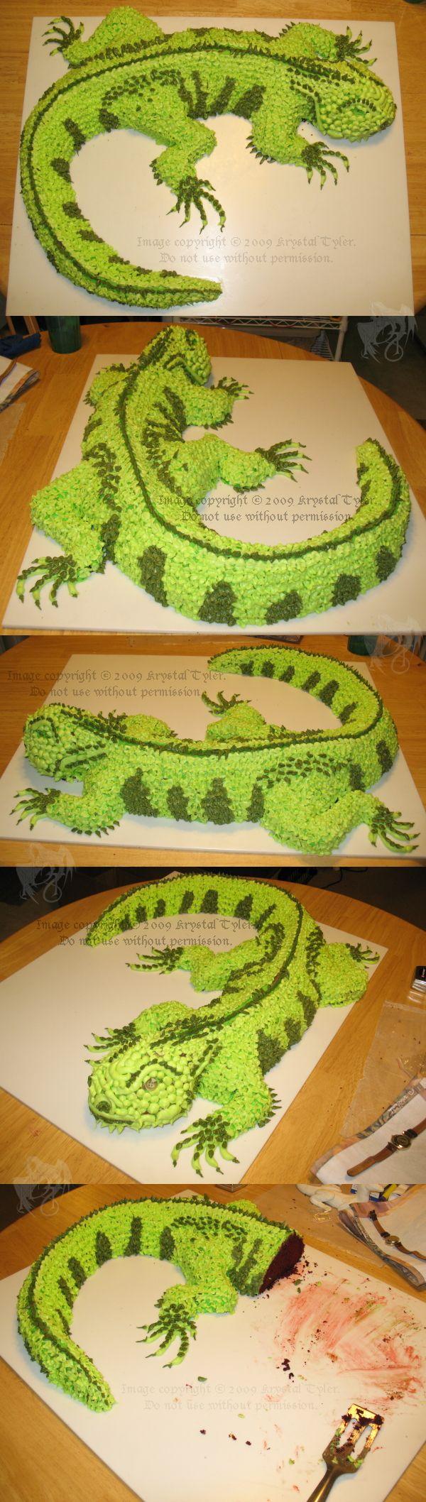 The Incredible, Edible Iguana by R-Eventide.deviantart.com on @deviantART