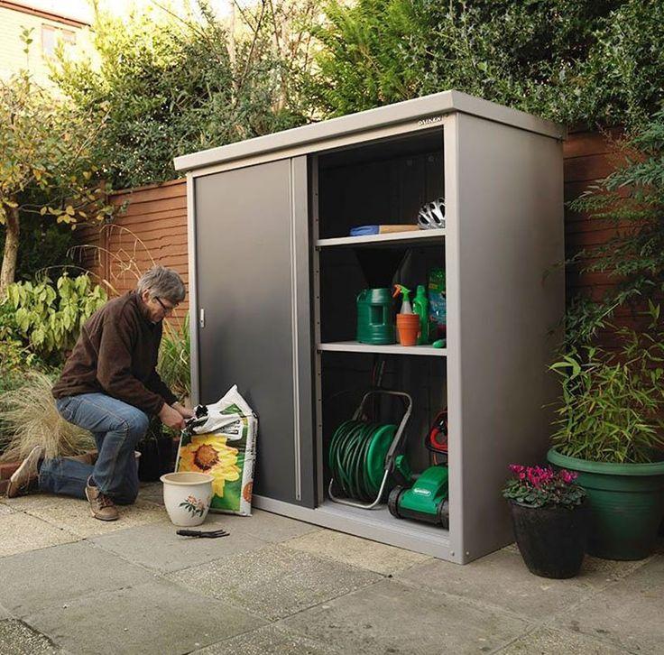 Descubre todas las posibilidades de los armarios de resina for Armario para patio