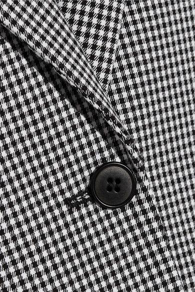 Altuzarra - Acacia Houndstooth Stretch-cotton Blazer - Black - FR34