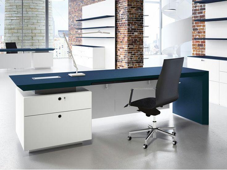 17 mejores ideas sobre escritorio moderno en pinterest for Diseno de escritorios de oficina