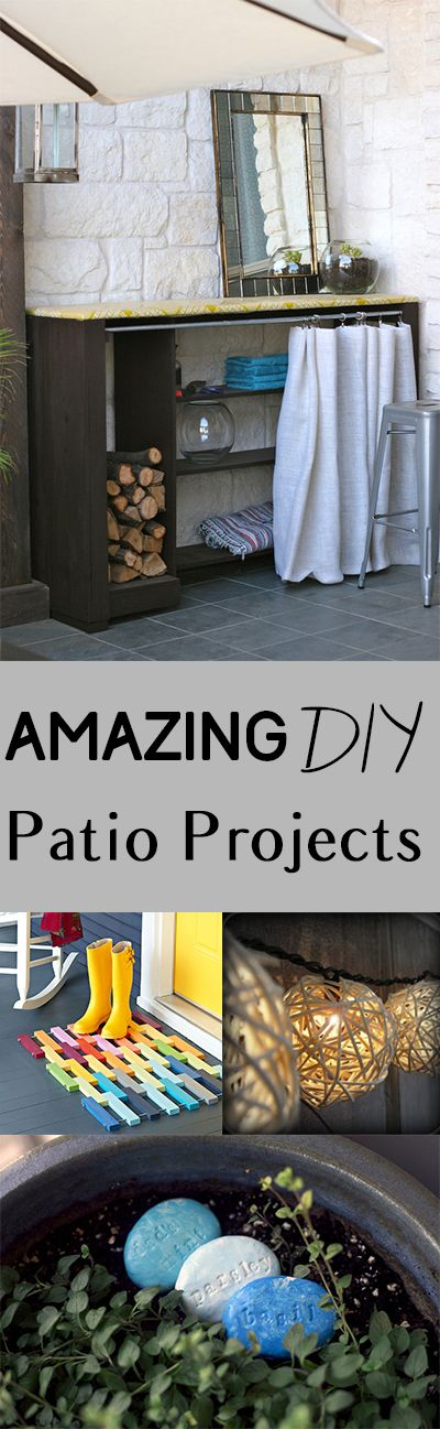 Amazing DIY Patio Projects