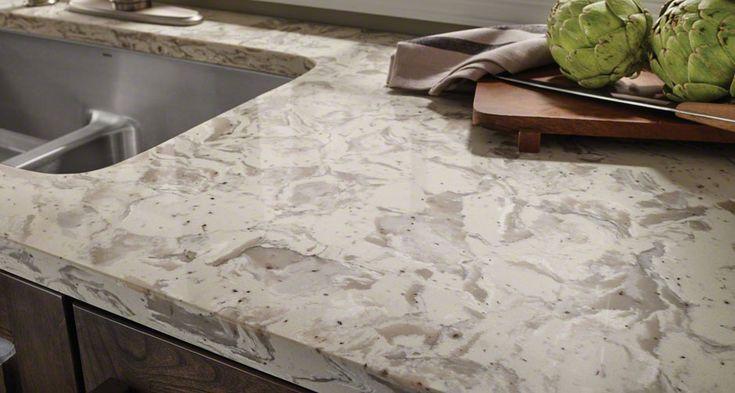 Kitchen Room Scene Romano White Quartz Countertop Page2