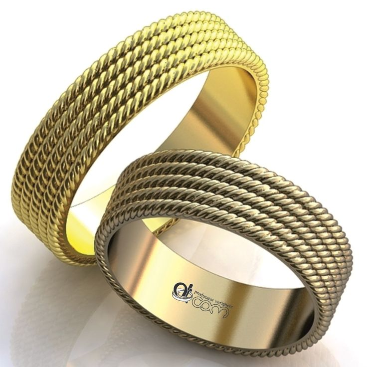 Verighete ATCOM Lux 3D 209 aur galben