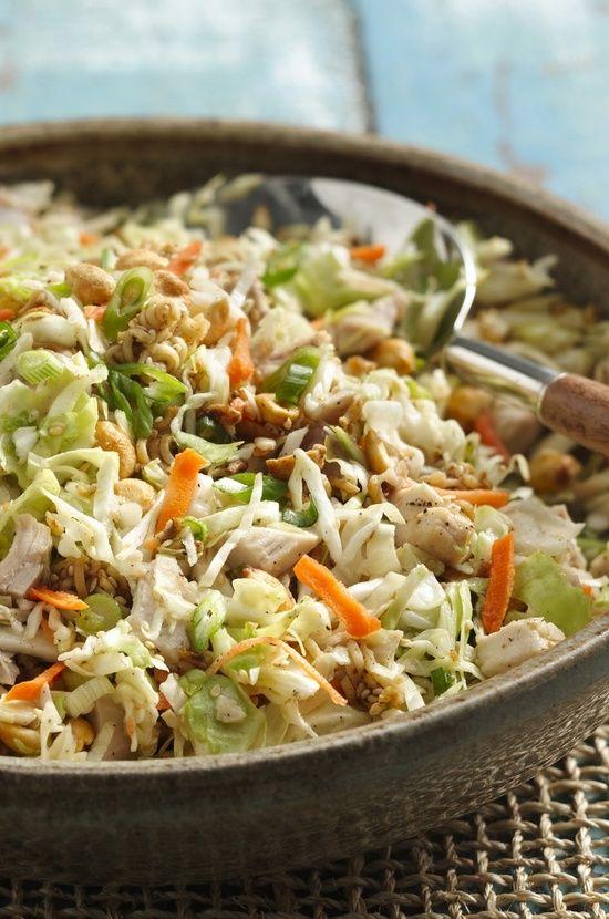 Crunchy Chicken Salad | foodsweet | foodsweet