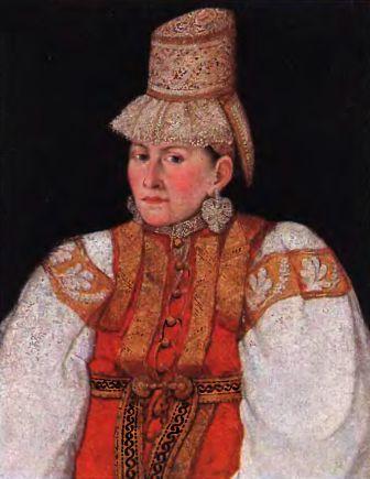 Русский народный костюм – Л. Ефимова