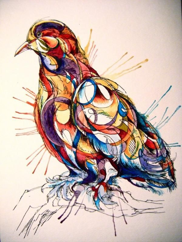 Watercolor Animals by Abby Diamond