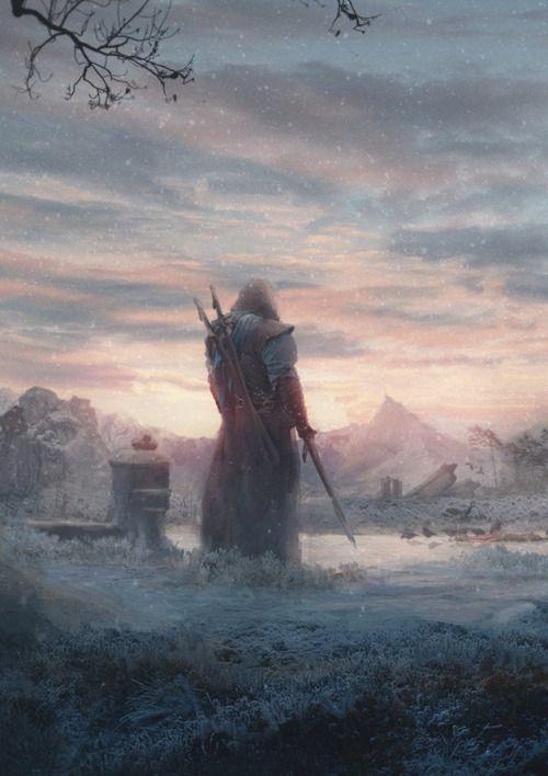 """fantasyartwatch: """" Before Dark by Matthias de Muylder """""""