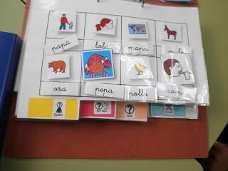 Un constructor de frases para trabajar el método ven a leer.