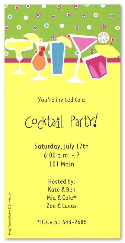 172 best images about Party Invitation Wording – Cocktail Party Invitations Wording