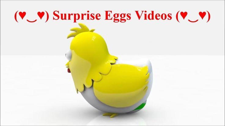 ❥❥❥ Family Fun! Learn Colors + Surprise Eggs Videos for Kids - Surprise Eggs with toys for Kids❤❤❤