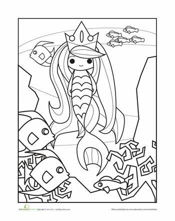 18 best Preschool - Mermaids images on Pinterest ...