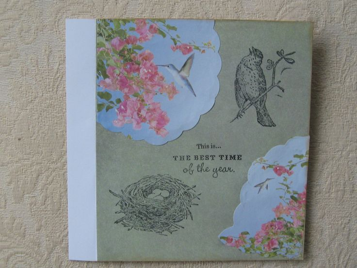 Spring Friendship Page  www.JozartInnovativeDesigns.blogspot.com Made By Josie Hancock.