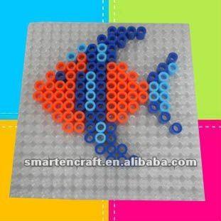 Fish hama beads