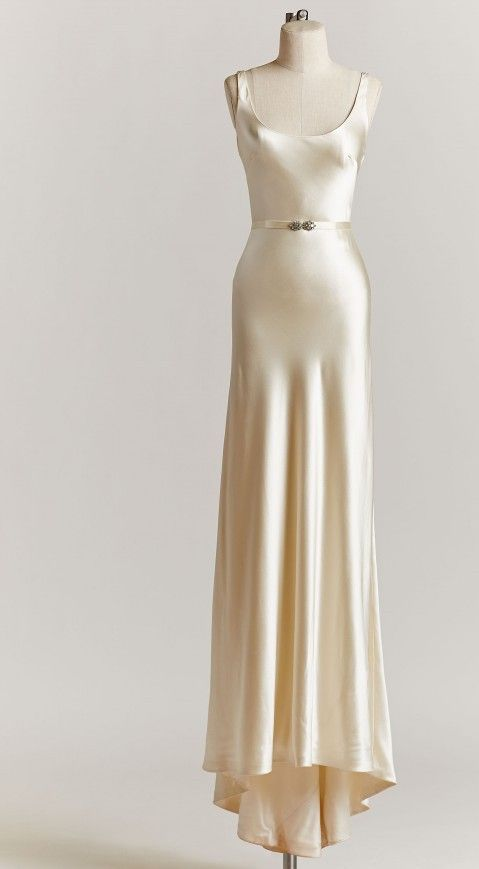 "Johanna Johnson 'The Marlowe' Gown from ''The BLACK collection""  Wedding Dress on Sale 85% Off"