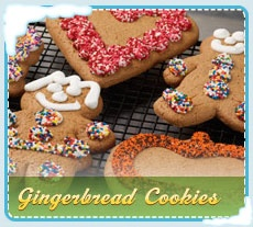 Gingerbread Boys & Girls from back home - DELIVERED for one of our Countdown to Christmas surprises!