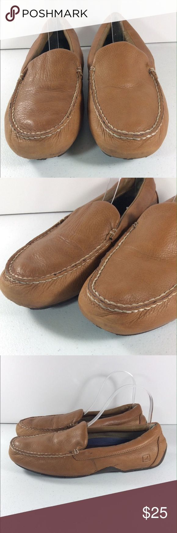 Sperry Top Sider Pilot Loafers Shoes Men's 11.5 Up for auction is this great pair of Sperry Top-Sider Pilot Loafers.  Mens Size 11.5 CONDITION: Great Condition! Some scuffs. Buttery soft leather! This item shows some overall wear. Please see photos. Sperry Top-Sider Shoes Loafers & Slip-Ons