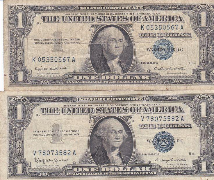 1957 A & B $1 Silver Certificates « ChopinBlock.com ChopinBlock.com