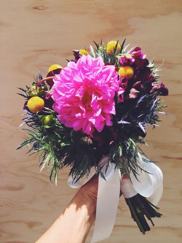 Wedding bouquet by Flora Folk