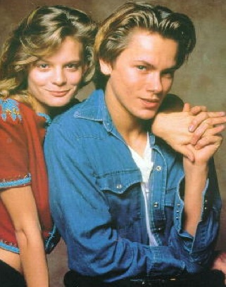 Martha Plimpton & River Phoenix. I can't see her without thinking of him.