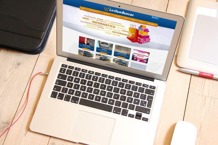 ¡Encontrar lo que necesitabas es mucho más fácil con Lo que Buscas! Realizamos el diseño de imagen corporativa y desarrollo web para ésta empresa azuleña dedicada al #comercio digital. Pueden apreciar el trabajo realizado en loquebuscas.com.ar