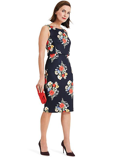 6008acfdcf74a Phase Eight Carolina Double Layer Floral Dress in 2019 | Vestidos ...